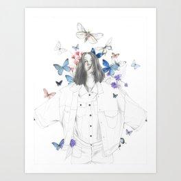 VUELA Art Print
