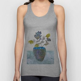 Country flowers Unisex Tank Top