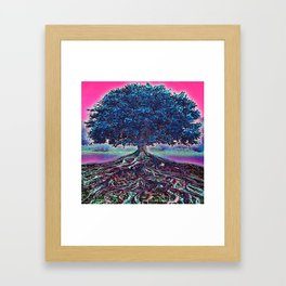 Really Rooted 2 Framed Art Print