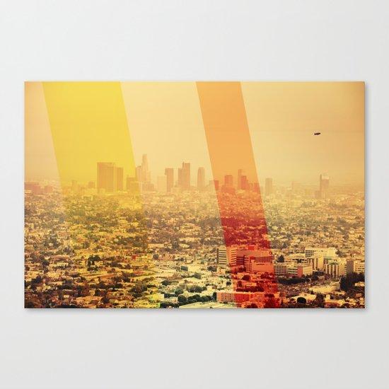 L.A Canvas Print