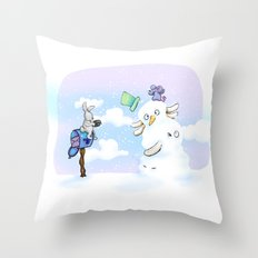 Holiday tradition   Throw Pillow