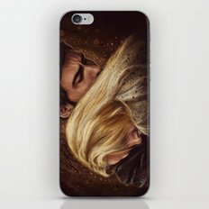 Don't Get Too Close, It's Dark Inside iPhone & iPod Skin