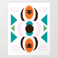 Metro Mix Series// Avery  Art Print