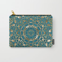 Moroccan Style Mandala Carry-All Pouch