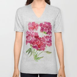 June Peaches Unisex V-Neck