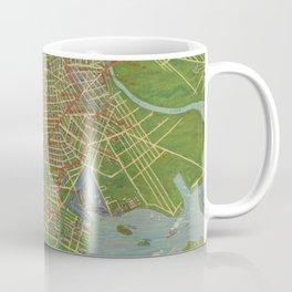 Vintage Map of the Bronx NY (1921) Coffee Mug