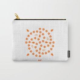 Kiwano, Papaya & Gooseberry • Mandala Carry-All Pouch
