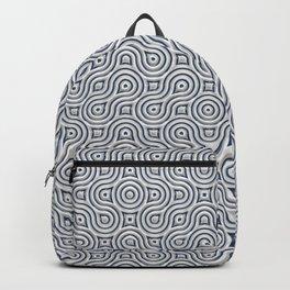 Silver Truchet Tilling Backpack
