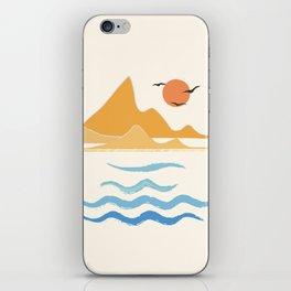 Minimalistic Summer III iPhone Skin