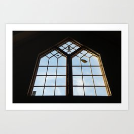 ChurchWindow Art Print