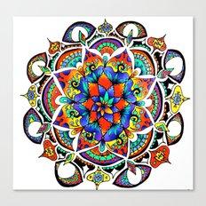 Mandala Bloom Canvas Print