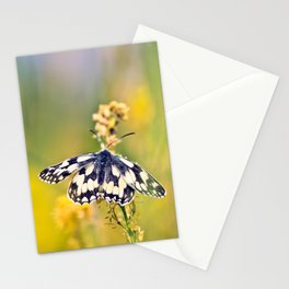 Marbled White Butterfly Stationery Cards