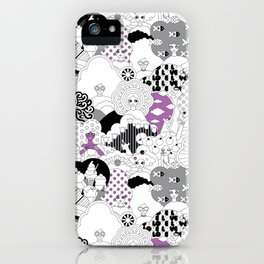 Girls Girls Goth iPhone Case