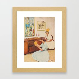 Heir Framed Art Print