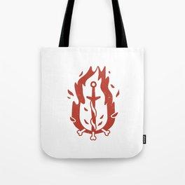 Bonfire (Demon's Souls & Dark Souls) Tote Bag