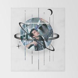 brendon galactic urie Throw Blanket