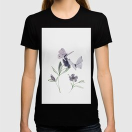 Flowers and butterflies 4 T-shirt