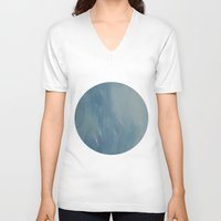 bubble V-neck T-shirts featuring bubble by XfantasyArt