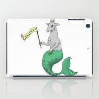 capricorn iPad Cases featuring Capricorn by Dan Paul Roberts