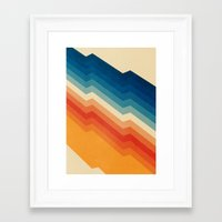 old Framed Art Prints featuring Barricade by Tracie Andrews