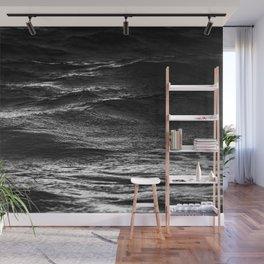 Deep Black Ocean Wall Mural