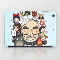 hayao miyazaki iPad Cases featuring Ghibli, Hayao Miyazaki and friends by KickPunch