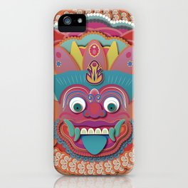 Scary Bali Monster iPhone Case