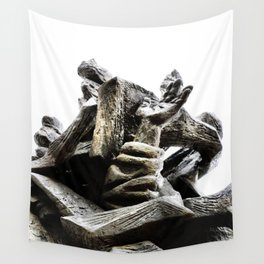 Reaching for Sanity Wall Tapestry