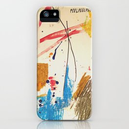 Peel Peel Peel iPhone Case