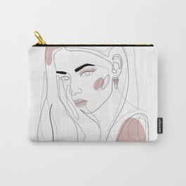In Blush Carry-All Pouch