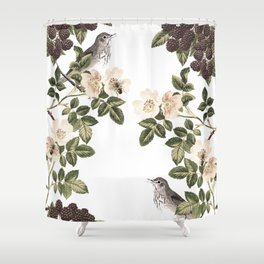 Blackberry Patch Shower Curtain