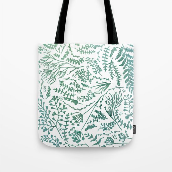 GREEN HERBS Tote Bag