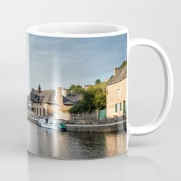 The habour of the city of Dinan Coffee Mug