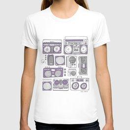 Boom Boxes T-shirt