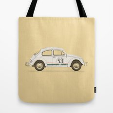 Famous Car #4 - VW Beetle Tote Bag