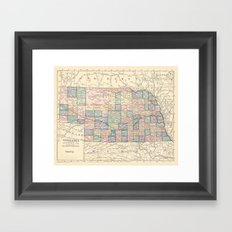 Nebraska Remembered Framed Art Print