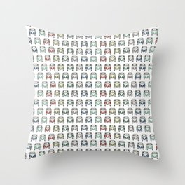 gotta love old skool cool classic cars Throw Pillow