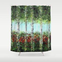 Aspen Trees Shower Curtain