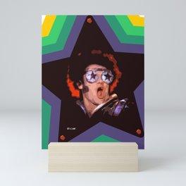 Rock and Roll Star Mini Art Print