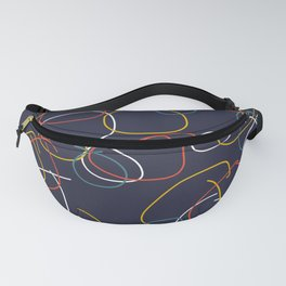 Crooked Circles #2 Fanny Pack