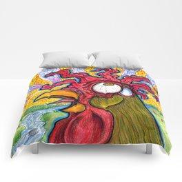 Crowing Rooster Comforters