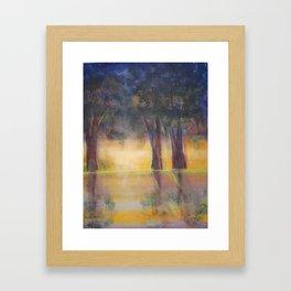 SUNSET HUSH Framed Art Print