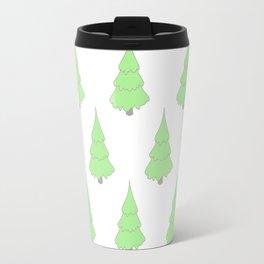 Background christmas tree Travel Mug