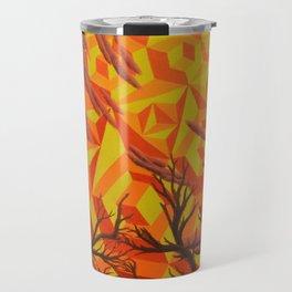 Sun Bathing Naked Trees Travel Mug