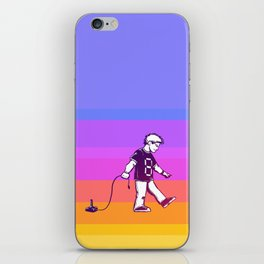 Growing Up 8bit iPhone Skin