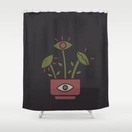 the venus flytrap Shower Curtain