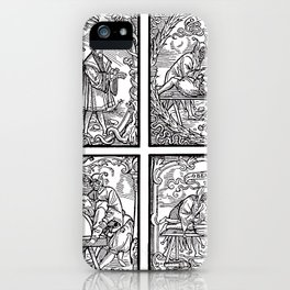 Depositing the Horns - Initiation Ritual iPhone Case