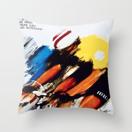 The Peace Race 1966 Throw Pillow