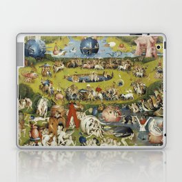 THE GARDEN OF EARTHLY DELIGHT - HEIRONYMUS BOSCH Laptop & iPad Skin
