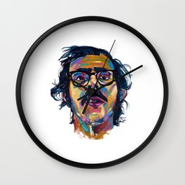 Chuck Close Wall Clock